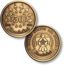Thunderbirds 50th Anniversary Air Force antiqued bronze challenge coin USAF