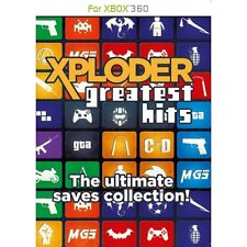 Xploder GREATEST HITS COLLECTION XBOX 360 GIOCO NUOVO di zecca
