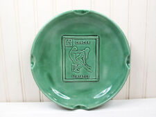 Vintage Cancer Zodiac Sign Ashtray Adult Novelty Sexual Position 1970s Ceramic
