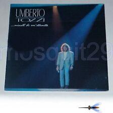 """UMBERTO TOZZI """"MINUTI DI UN'ETERNITA'"""" RARO LP 1990 SIGILLATO - MORANDI RUGGERI"""