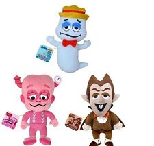 FUNKO PLUSHIE FRANKENBERRY BOO BERRY CHOCULA 3 PC PLUSH DOLL SET