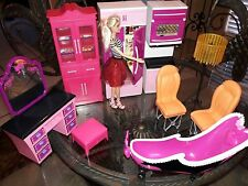 9 piece Lot  of  Barbie size Doll House Furniture
