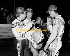 1989 PARKER SPRINGSTEEN CHANDLER AMA FLAT TRACK 11 X 14 PHOTO FROM ASCOT