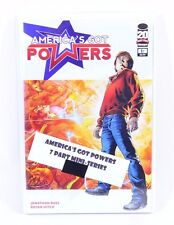 AMERICA'S GOT POWERS 1 2 3 4 5 6 7 Complete Run Lot Set Image 1-7