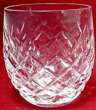 """WATERFORD crystal POWERSCOURT pattern OLD FASHIONED GLASS or TUMBLER 3-1/2"""""""