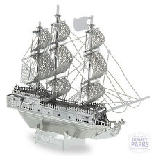 Disney Parks The Black Pearl Metal Earth  3D Model Kit Pirates of the Caribbean