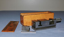 Watchmakers Precision Milling Machine Machinist Vise Vice & Wood Box Extra Part