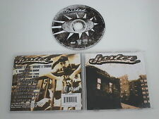 JUSTER/WHAT I SEE WHAT I THINK(BULLET PROOF RECORDS IRS 993.610) CD ALBUM