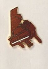 Vintage Mini Rosewood Grand Piano Pin Brooch Badge Music Gift AIM45C