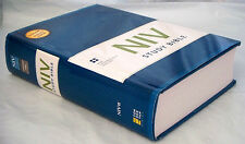 NIV Study Bible (Hardcover) 2011 Edition, Full-Color, Over 20,000 Study Notes