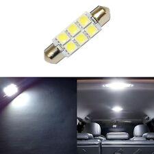 1 Super White 42mm 578 LED 211-2 Bulbs Festoon 5050 Dome Map Cargo Light #1xC4