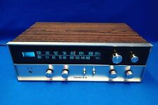 Vintage Silver Face CR-110 AM/FM Stereo Tuner Receiver Amplifier Wood Tested