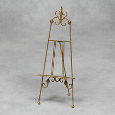 56cm Antique Gold Metal Display Stand Holder Easel Wedding Menus Table Plans