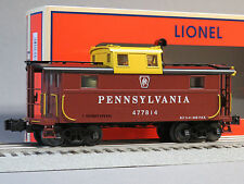 LIONEL PENNSYLVANIA N5B CABOOSE 477814 SMOKE UNIT smoking o gauge train 6-81806