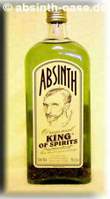 KING OF SPIRITS ABSINTH, 0,7 l-70% vol.alc - KÖNIGSABSINTH