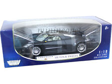 MOTORMAX CHRYSLER ME FOUR TWELVE 1/18 DIECAST MATTE BLACK