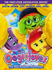 OOGIELOVES IN THE BIG BALLOON ADVENTURE (DVD, 2013) WITH SLEEVE