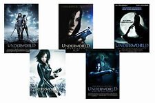 UNDERWORLD FILMS - SET OF 5 - A4 POSTER PRINTS # 1