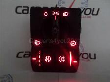 CORSA C / COMBO / TIGRA RED LED HEADLIGHT SWITCH FR & RR FOGS + FREE UK POSTAGE