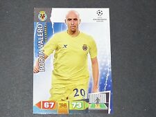 BORJA VALERO VILLAREAL UEFA PANINI FOOTBALL CARD CHAMPIONS LEAGUE 2011 2012