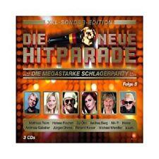 DIE NEUE HITPARADE FOLGE 8-XXL SONDER-EDITION (HEINO/JÜRGEN DREWS/+) 3 CD NEU