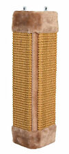 Brown Scratching Board for Wall Corners Hanging Cat Scratch Post with Catnip