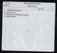 BEYONCE Me Myself and I RARE Australian PROMO Only CD Single