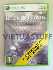 Il 2 Sturmovick, Birds of Prey, not for resale, XBOX 360, EURO, Factory Sealed !