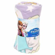 Disney Frozen Anna, Elsa and Olaf Fleece Blanket