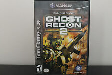 Tom Clancy's Ghost Recon 2  (Nintendo GameCube, 2005) *Tested/Wii Compatible