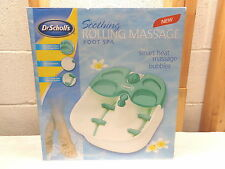 Dr. Scholl's Soothing Rolling Massage Foot Spa~DRFB7008~New!