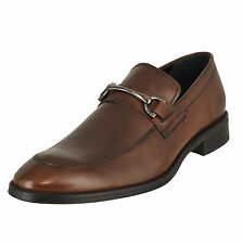 Kenneth Cole New York Gather-Ring Cognac Mens Loafers Size 9.5M