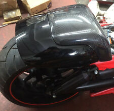 VRSCF HD VROD Muscle Passenger Seat Cover - Carbon Fibre - Excellent Quality