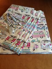 Happy Camper Candy, Camper Van Curtain Set For VW T2,Blackout/Thermal/Magnets