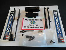 MOSSBERG 590/590a1 12GA 10pc COMPLETE PARKERIZED RECEIVER PARTS KIT Ships FREE!