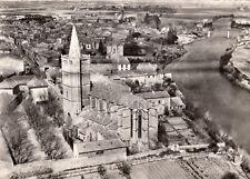 SERIGNAN Eglise vue d'avion timbrée 1962