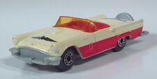 "1982 Matchbox 1957 Ford Thunderbird T-Bird 3"" 1:63 Scale Model Red White Macao"