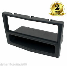 CD Stereo Surround Fascia Panel Charcoal For OPEL Astra H (2004-2010)