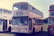 BUS PHOTO PICTURE,EX GRAHAMS OF PAISLEY PHOTOGRAPH,TAYLORS DAIMLER FLEETLINE.