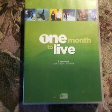 One Month To Live: 5 Sessions Kerry & Chris Shook 5 DVD Set Inspirational  NEW