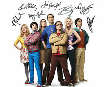 THE BIG BANG THEORY #1 10X8 PRE PRINTED (SIGNED) LAB QUALITY PHOTO - FREE DEL