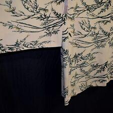 """""""Yellow Mums"""" Vintage Modified Japanese Haori Jacket Kimono XL Plus Size"""