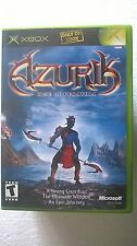 MICROSOFT XBOX NTSC USA VERSION - AZURIK : RISE OF PERATHIA