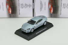 Kyosho 1/64 Aston Martin V12 Rapide S Silver Collection 5 Japan 2013