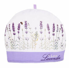 I Love Lavender Tea Cosy Cozy Ashdene Keep Teapot Warm Bee Purple White