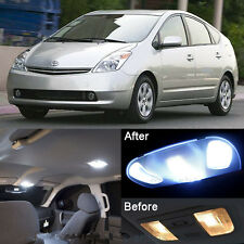 Xenon White LED Interior kit + License Light LED For Toyota Prius 2004-2008