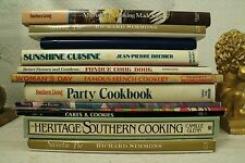 lot old cookbooks cook books cooking Party Southern Cakes Cookies Cuisine Fondue