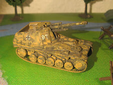 WESPE Sd.Kfz. 124 - Maquette 1/76 1/72 Model  Peint Painted WWII WW2 - Matchbox