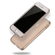 Shockproof 360° Full Body Silicone Protective Phone Case Crystal Clear TPU Cover