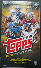 2013 Topps Mini Cards Football Hobby Box NFL 1 Auto or Relic per Box